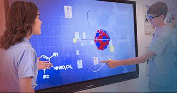 Interactive panel