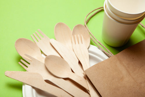 Disposable kitchen utensils