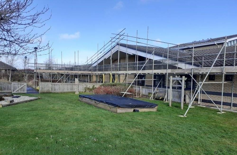 Middlestone Moor Primary - Re-roofing project